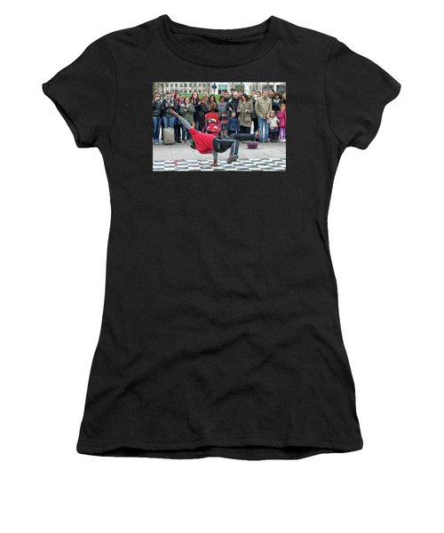 Breakdancer Women's T-Shirt