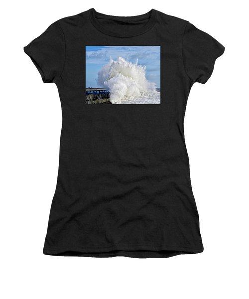 Breakwater Explosion Women's T-Shirt (Athletic Fit)