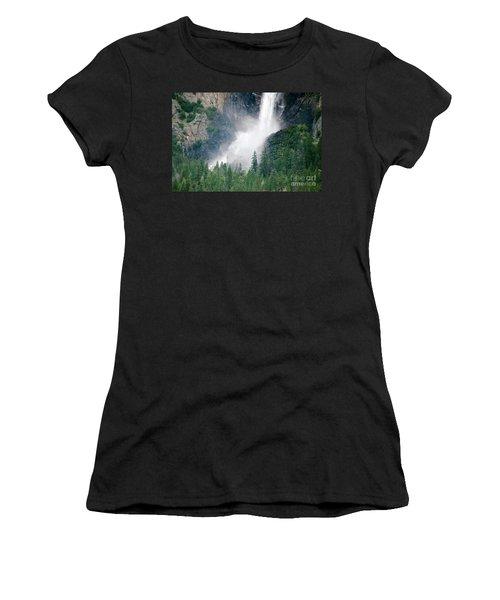 Bridalveil Falls Women's T-Shirt (Athletic Fit)