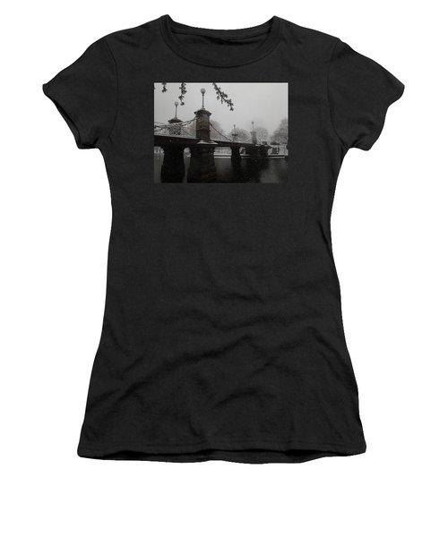 Bridge In Suspension 1867 Women's T-Shirt (Athletic Fit)