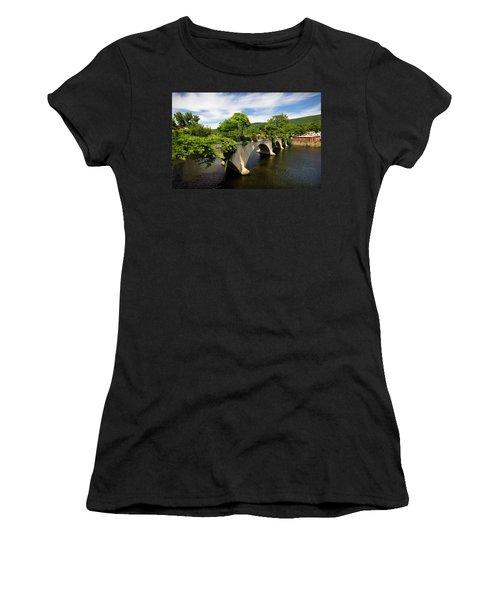 Bridge Of Flowers Shelburne Falls, Ma Women's T-Shirt