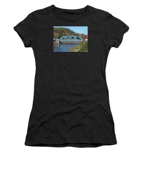 Bridge Over Rondout Creek 2 Women's T-Shirt (Athletic Fit)