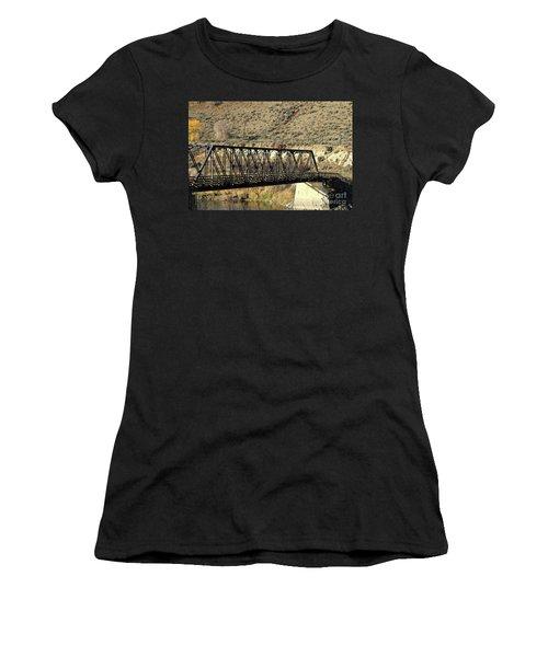 Bridge Over The Thompson Women's T-Shirt (Athletic Fit)