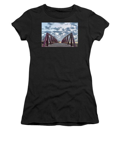 Bridge To The Clouds Women's T-Shirt