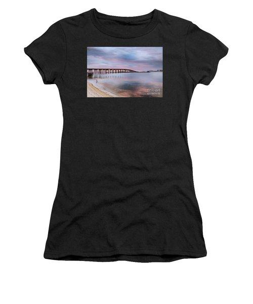 Bridge Under The Sunset Women's T-Shirt