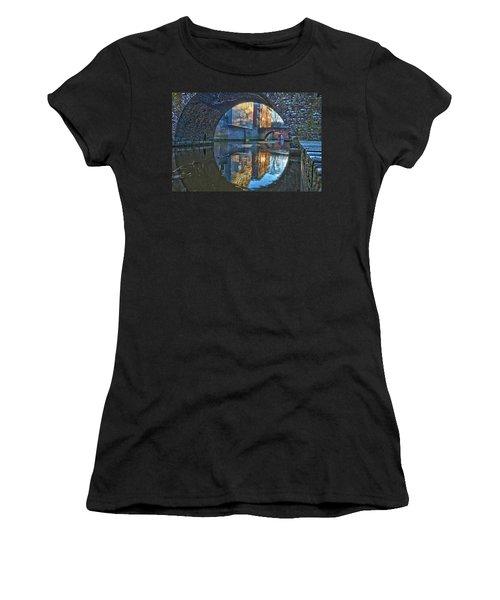 Bridges Across Binnendieze In Den Bosch Women's T-Shirt (Athletic Fit)