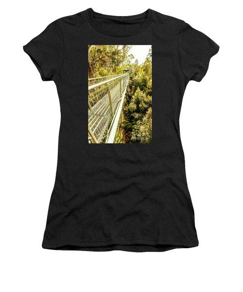 Bridging Forests  Women's T-Shirt
