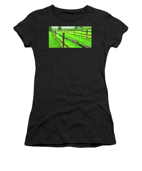 Bridle Trail Women's T-Shirt (Athletic Fit)