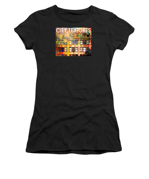 Bright City Textures Women's T-Shirt (Athletic Fit)
