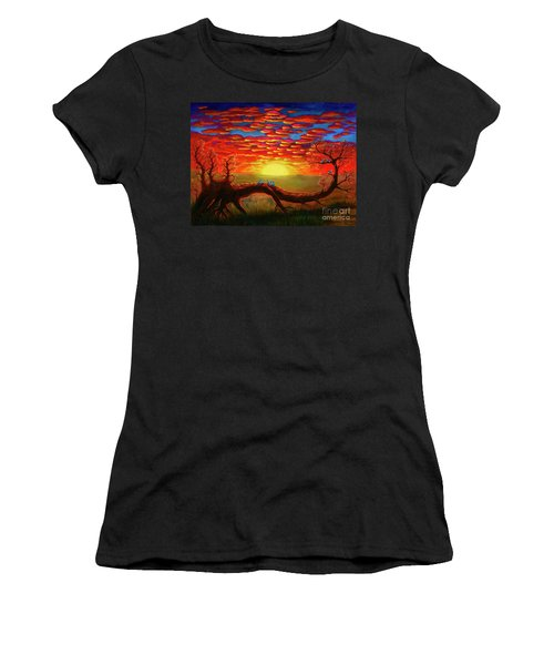 Bright Sunset Women's T-Shirt (Athletic Fit)