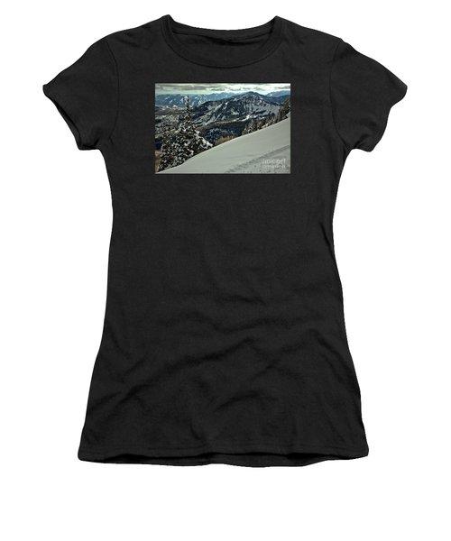 Brighton Skier Views Women's T-Shirt