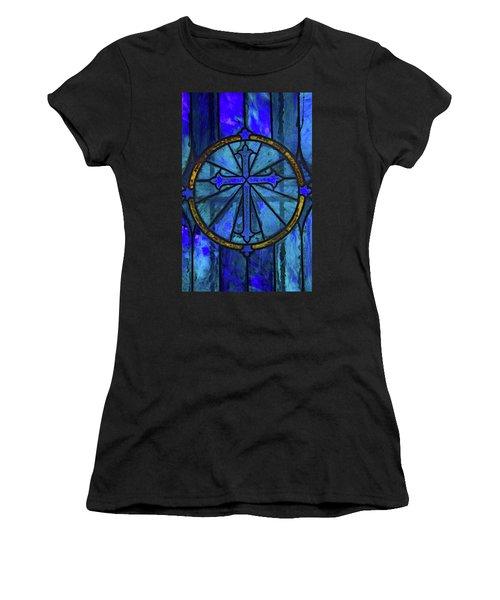 Brillant Blue Women's T-Shirt (Athletic Fit)
