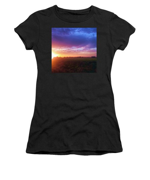 Brilliant Skies Women's T-Shirt (Athletic Fit)