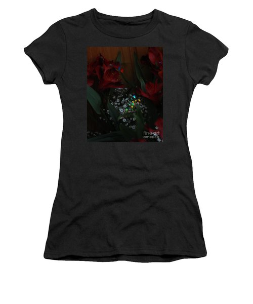 Women's T-Shirt (Athletic Fit) featuring the photograph Brilliantly Shy by Marie Neder
