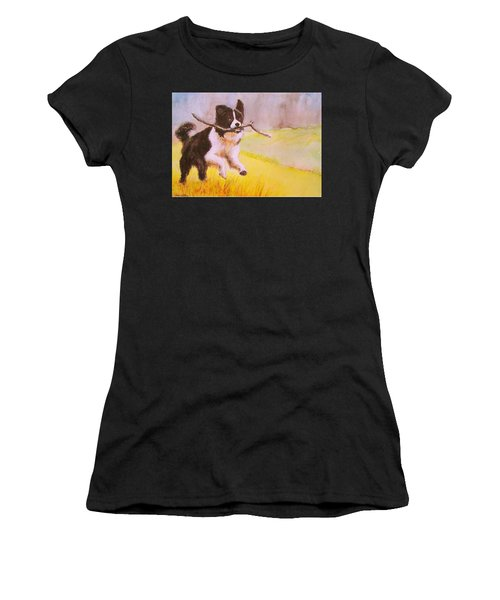 Bring Me The Stick Women's T-Shirt (Athletic Fit)