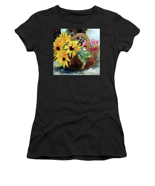 Bringing In The Sunshine  Women's T-Shirt (Athletic Fit)
