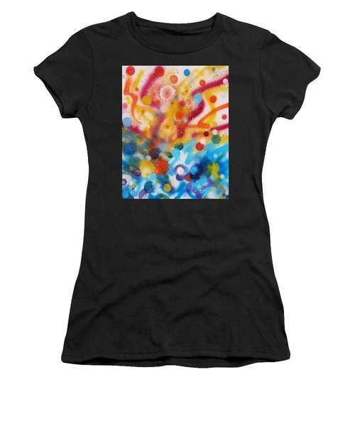Bringing Life Spray Painting  Women's T-Shirt