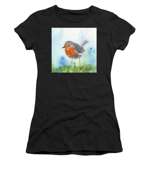 British Robin Women's T-Shirt