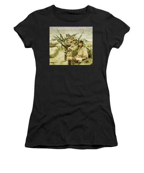British Sas Women's T-Shirt (Athletic Fit)