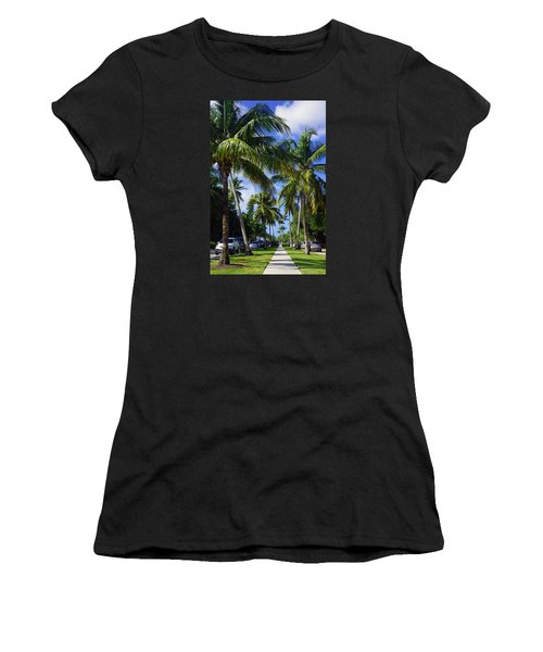 Broad Avenue South, Old Naples Women's T-Shirt (Athletic Fit)
