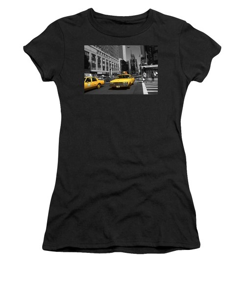 New York Yellow Taxi Cabs - Highlight Photo Women's T-Shirt
