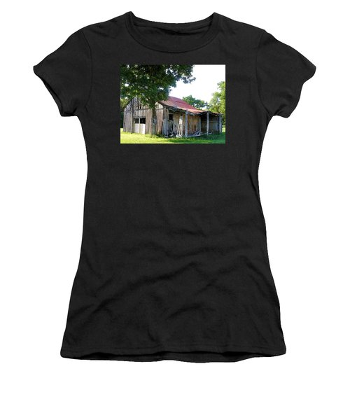 Brokedown Barn Women's T-Shirt (Athletic Fit)