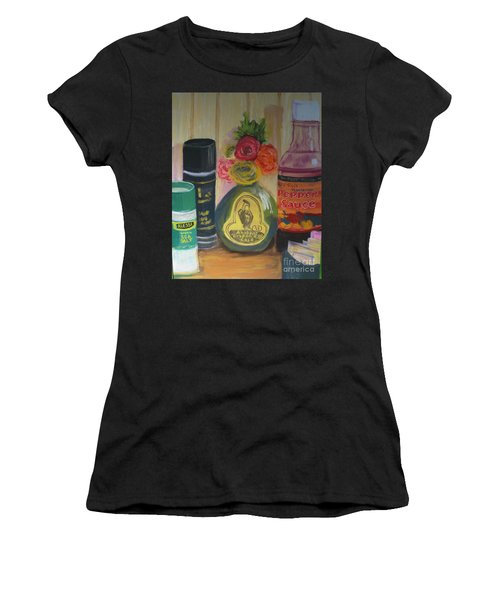 Broken Egg Tableart Women's T-Shirt (Athletic Fit)