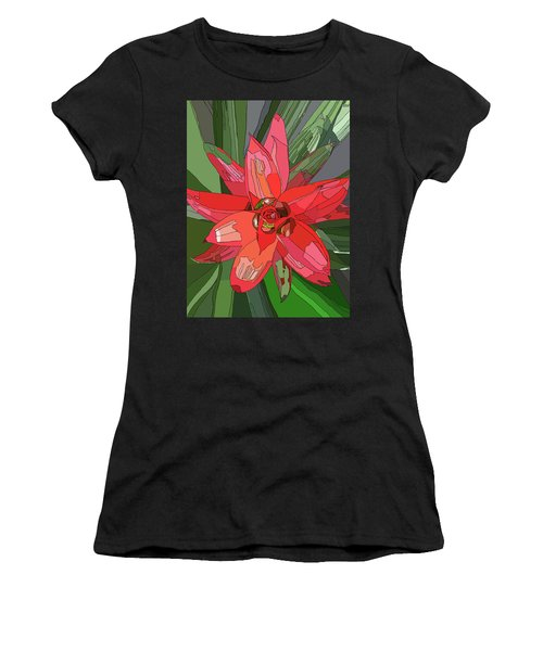 Bromiliad Women's T-Shirt (Athletic Fit)