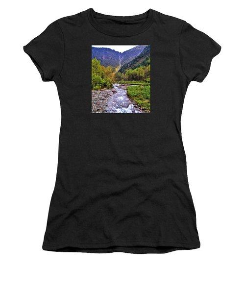 Brook Women's T-Shirt (Athletic Fit)