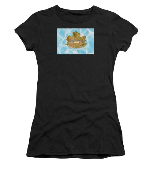 Brook Trout On Fly Women's T-Shirt (Athletic Fit)