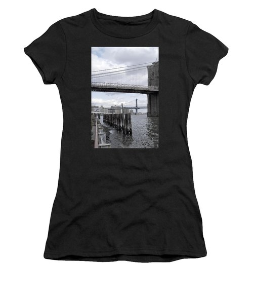 Brooklyn Bridge II Women's T-Shirt (Athletic Fit)