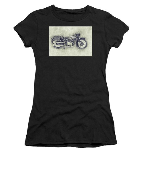 Brough Superior Ss100 - 1924 - Motorcycle Poster 1 - Automotive Art Women's T-Shirt