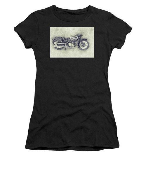 Brough Superior Ss100 - 1924 - Motorcycle Poster 1 - Automotive Art Women's T-Shirt