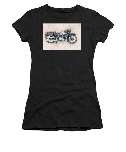 Brough Superior Ss100 - 1924 - Motorcycle Poster - Automotive Art Women's T-Shirt