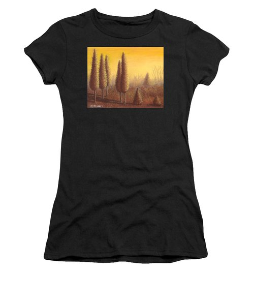 Brown Trees 01 Women's T-Shirt