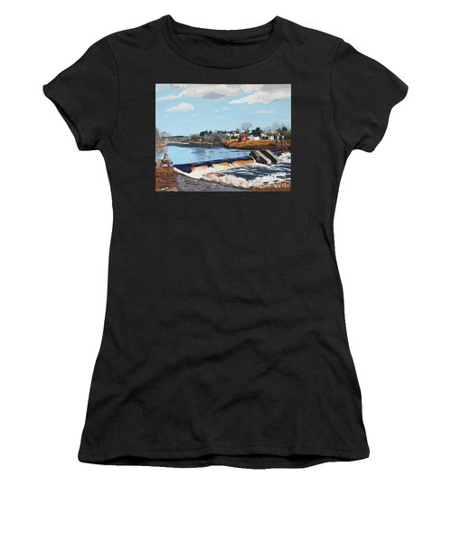Brownville Village Dam Women's T-Shirt