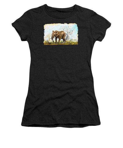 Browsing In The Bushes Women's T-Shirt