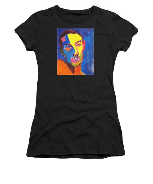 Bryan Portrait Women's T-Shirt (Athletic Fit)