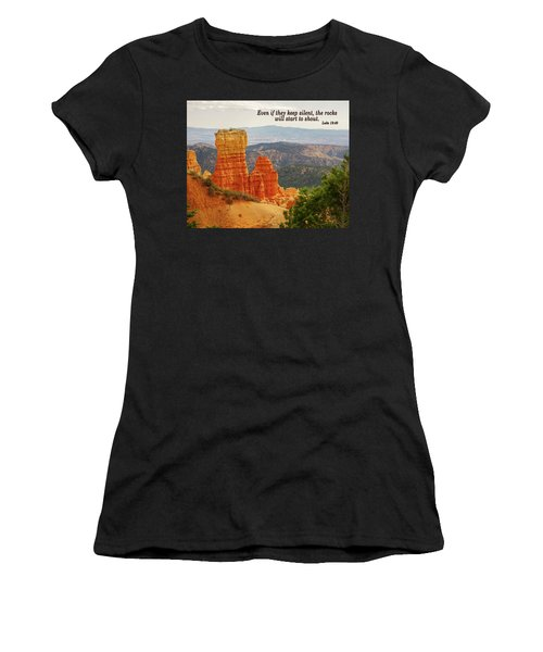 Women's T-Shirt featuring the photograph Bryce Canyon by Jim Mathis