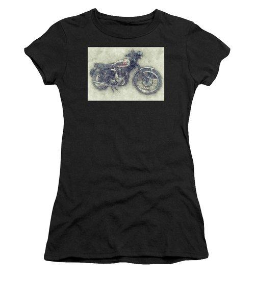 Bsa Gold Star 1 - 1938 - Motorcycle Poster - Automotive Art Women's T-Shirt