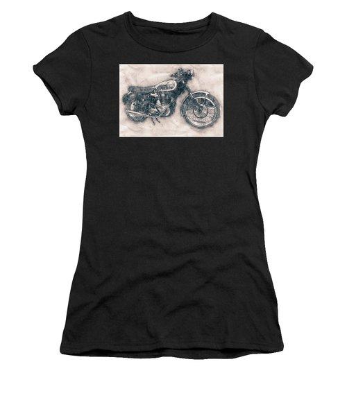 Bsa Gold Star - 1938 - Motorcycle Poster - Automotive Art Women's T-Shirt