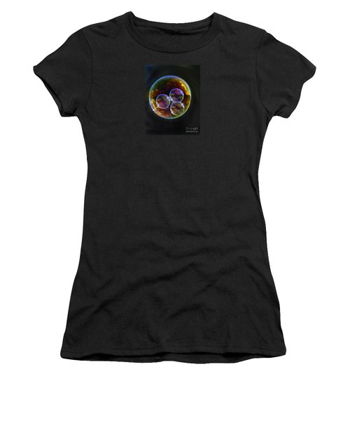 Bubble With Three Women's T-Shirt