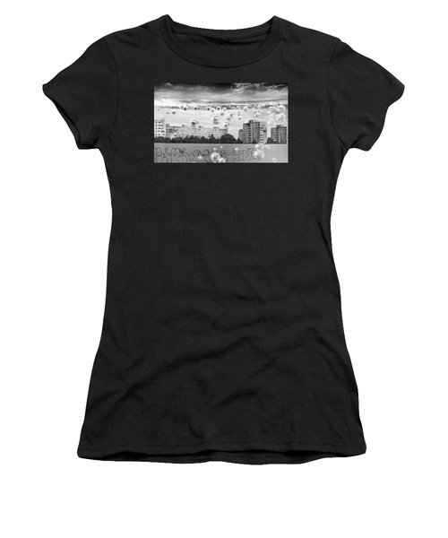 Bubbles And The City Women's T-Shirt
