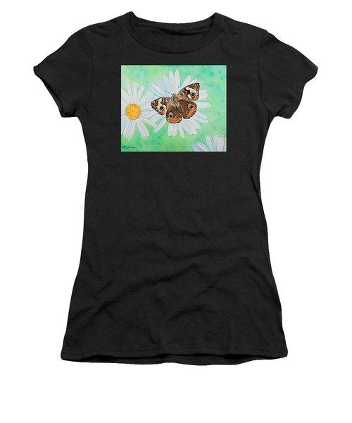 Buckeye On Oxeye Women's T-Shirt (Athletic Fit)