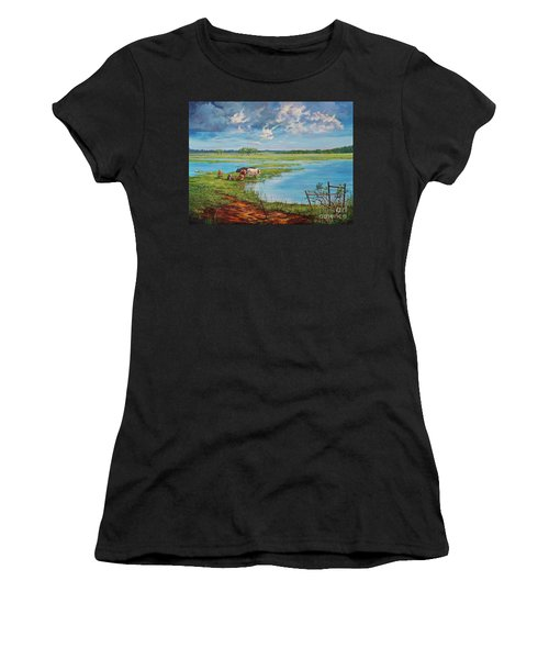 Bucolic St. John's Women's T-Shirt (Athletic Fit)