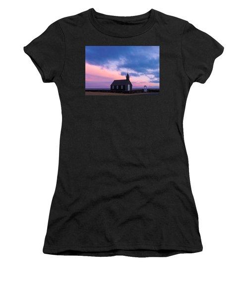 Budir Black Church Women's T-Shirt