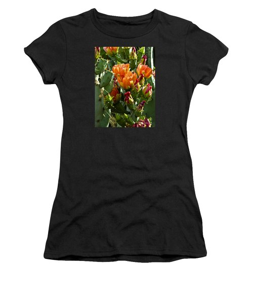 Buds N Blossoms Women's T-Shirt (Athletic Fit)