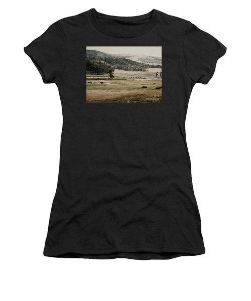 Buffalo Roam Women's T-Shirt