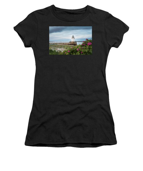 Bug Light Blooms Women's T-Shirt (Athletic Fit)