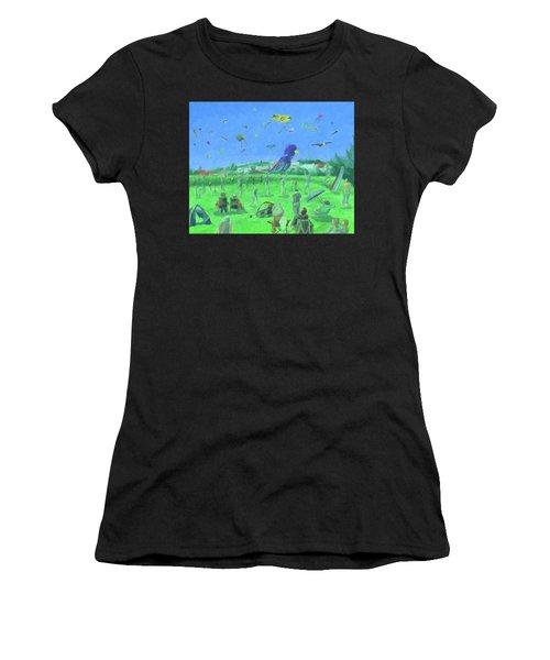 Bug Light Kite Festival Women's T-Shirt